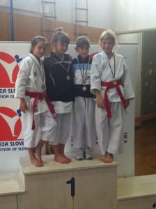 Karate 2. pokalna tekma Šenčur 18.10.2014